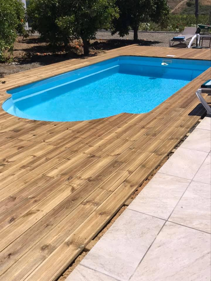 Now clean and treat the pool to perfection...